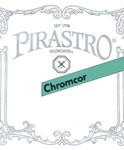 Pirastro Chromcor 4/4 Violin String Set - Medium Gauge with Ball End E